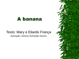 A banana - Quadro e Giz
