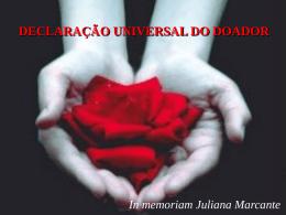 Doação de òrgãos - Gerson Barreto - ABTO | Associação Brasileira
