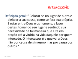 intercessao