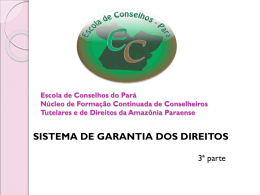 ECA, SGD, CMDCA, ORÇAMENTO - Eixo 2