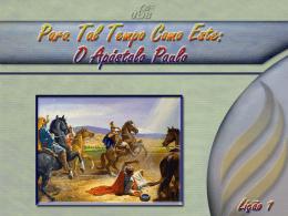 PowerPoint Portugués - Paróquia Nossa Senhora do Carmo