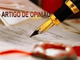 Artigo de opinião - Faculdade Unicampo