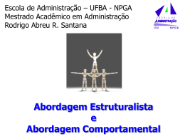 Aula Rodrigo - Estruturalismo