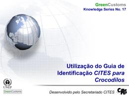 Utilização do Guia de Identificação CITES para Crocodilos