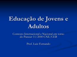 EJA - Divisão de Orientação Técnico Pedagógica