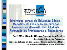 Diretrizes gerais da Educação Básica