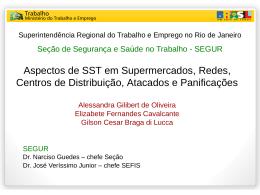 Apresentação SRTE - Centros de Distribuição