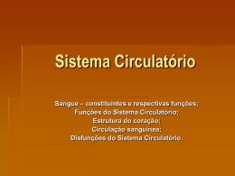 Sistema Circulatório 3