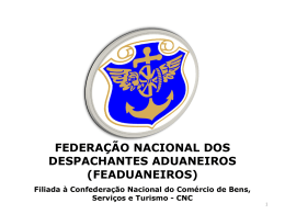 O DESPACHANTE ADUANEIRO