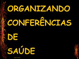 o que é uma conferência de saúde?