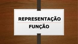 representação função