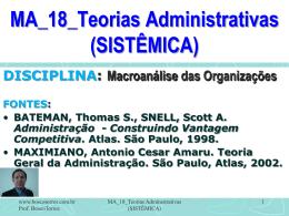 MA_18_Teorias_Administrativas_SISTEMICA