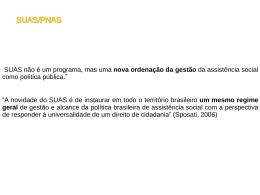 SUAS/PNAS