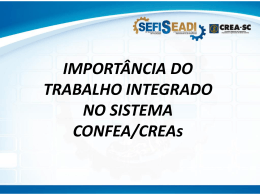 Eng. Civil Luiz Henrique Pellegrini - Superintendente do CREA-SC.