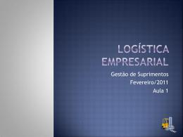 Logística empresarial - Universidade Castelo Branco
