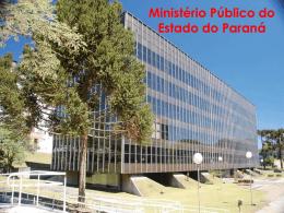 Apresentação II - Ministério Público do Paraná