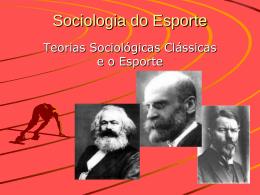 Sociologia do Esporte