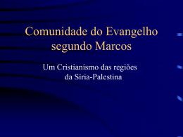 Cristianismos da 2a. Geração