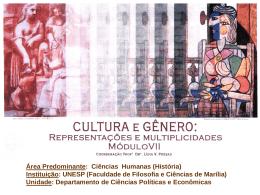 A nova história cultural - Faculdade de Filosofia e Ciências