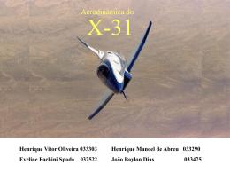 Aerodinâmica do caça X-31