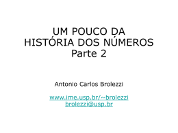 Números 2 - IME-USP