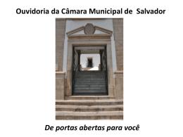 Audiência Pública - Câmara Municipal de Salvador-BA