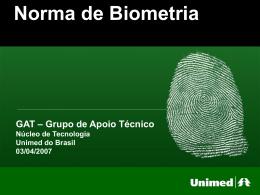 Projeto de Biometria