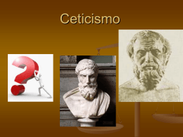 Filosofia Ceticismo