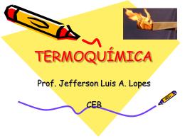 Aula01 - Termoquímica - 2º Ano (Ensino Médio)