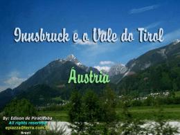 INNSBRUCK E O VALE DO TIROL