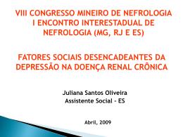 Doenças crônicas - Sociedade Brasileira de Nefrologia