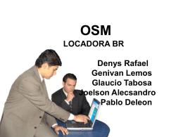 OSM concluído