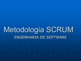 Metodologia SCRUM - GRUPO DIOGENES