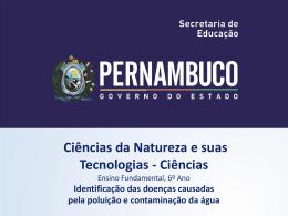 Identificação das doenças causadas pela poluição e contaminação