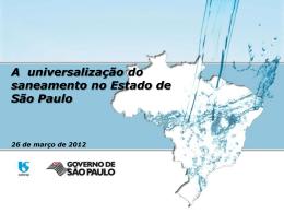 Desafios e Oportunidades no setor de saneamento: a visão Sabesp
