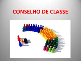 Conselho de Classe - Etec Cel. Fernando Febeliano da Costa