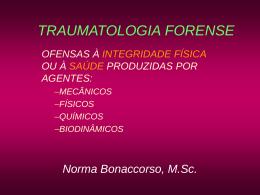 (2) TRAUMATOLOGIA