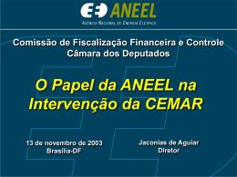 O Marco Institucional e Regulatório do Setor Elétrico Brasileiro