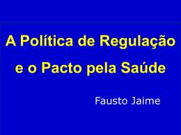 PACTO pela Saúde - Estado de Goiás