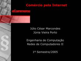 Comércio pela Internet usando SSL
