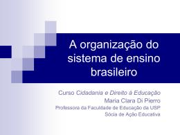 Apresentação Maria Clara – Organização do
