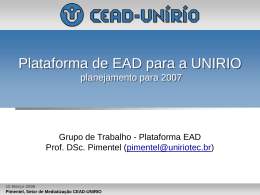 20070315.CEADUNIRIO.Pimentel.PlataformaEAD