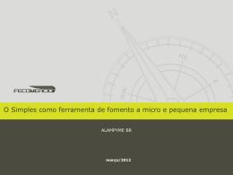 veja apresentação completa - CEBRASSE | Central Brasileira do