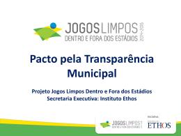 Pacto pela Transparência