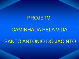 CAMINHADA PELA VIDA - Cosems-MG
