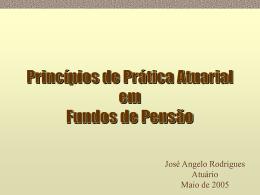 Conceitos Fundamentais de Atuária - Instituto de Matemática