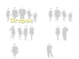Desafios no trabalhos de grupos