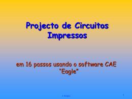 Projeto de circuitos impressos