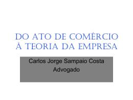 DIREITO EMPRESARIAL - Instituto dos Advogados Brasileiros