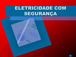ELETRICIDADE COM SEGURANÇA